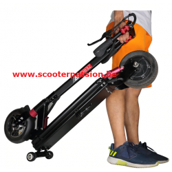 trolley roulettes slider deck trottinette électrique power zero Z8