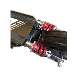 amortisseur upgrade amélioré trottinette electrique power zero Z8 rear suspension 750 lbs