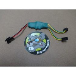 Convertisseur PCB led frein pour trottinette Kaabo Mantis