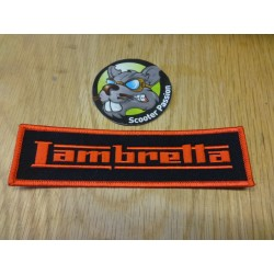 Broderie Lambretta Red/Black