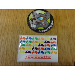 Magnet Lambretta Colors
