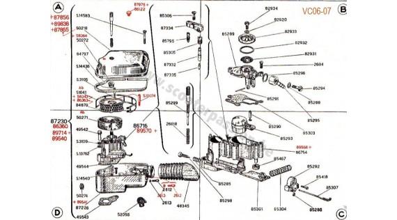 Carburateur, filtre à air et boîtier de carburateur