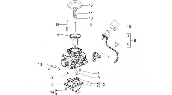 Carburateur - Pièces détachées