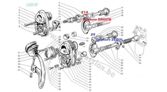 Système de kick - 2ème modèle