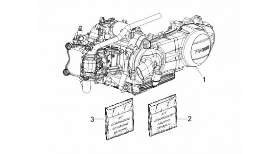 Kits joints moteur