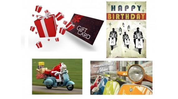 Bon d'achats : anniversaire, fêtes...