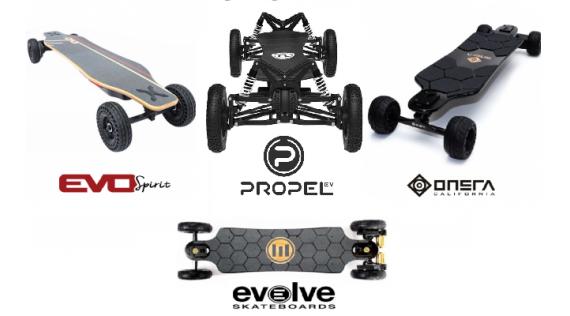 SKATEBOARD électrique - Electrische skateboard - E-Skateboard