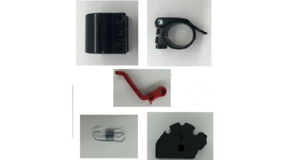 Système de verrouillage - Plooisysteem Power Zero Z8