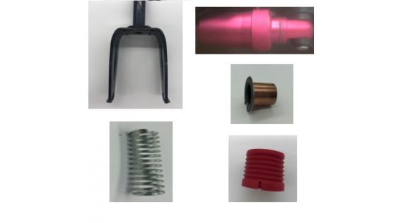 Pièces de suspension et fourche - Ophanging en vork Power Zero 9 Z9