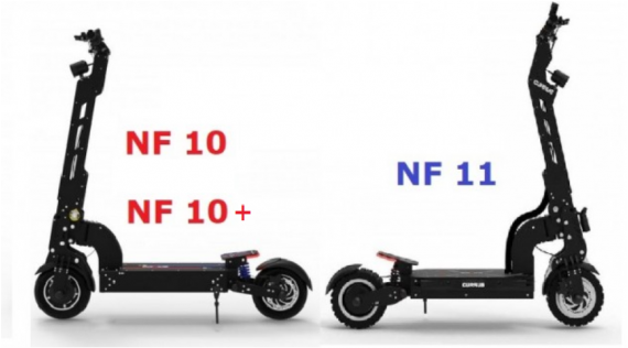 Trottinettes électriques CURRUS NF10 et NF11 Panther