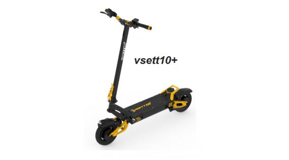 Trottinettes électriques et pièces détachées Vsett10+