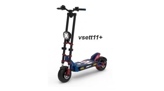 Trottinettes électriques et pièces détachées Vsett11+