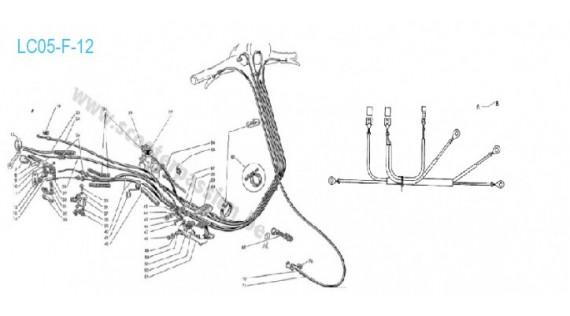 Faisceau électrique, gaines et câbles