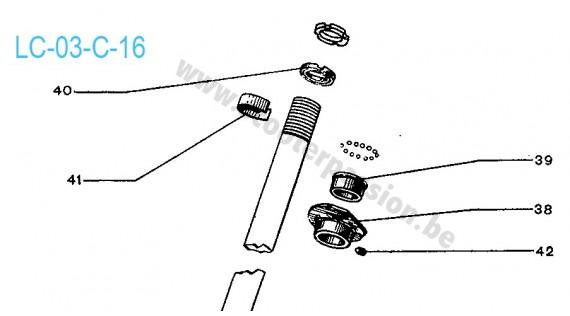 Roulements de fourche Lambretta C